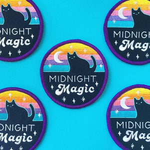 "MIDNIGHT MAGIC 3"" IRON-ON PATCH"