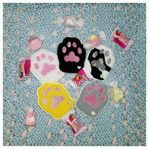 Fuzzy Cat Paw Patch