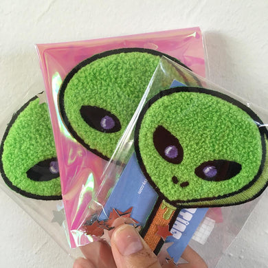 Alien Popsicle Patch