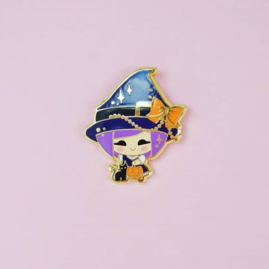 Emili Little Witch Pin