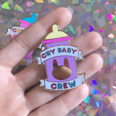 Cry Baby Crew Pin