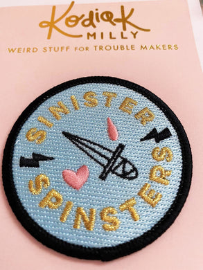 Sinister Spinster Patch