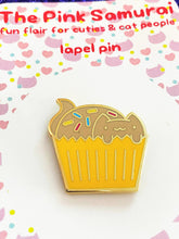 Load image into Gallery viewer, CATCAKE WITH SPRINKLES LAPEL PIN
