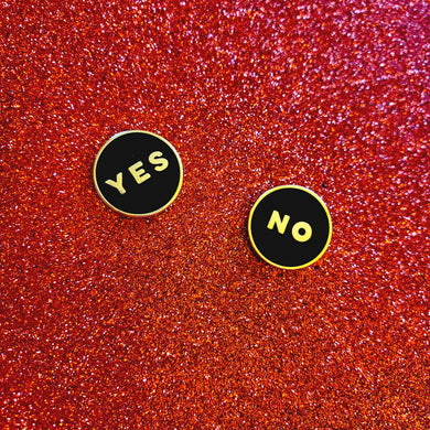 Yes / No Pins