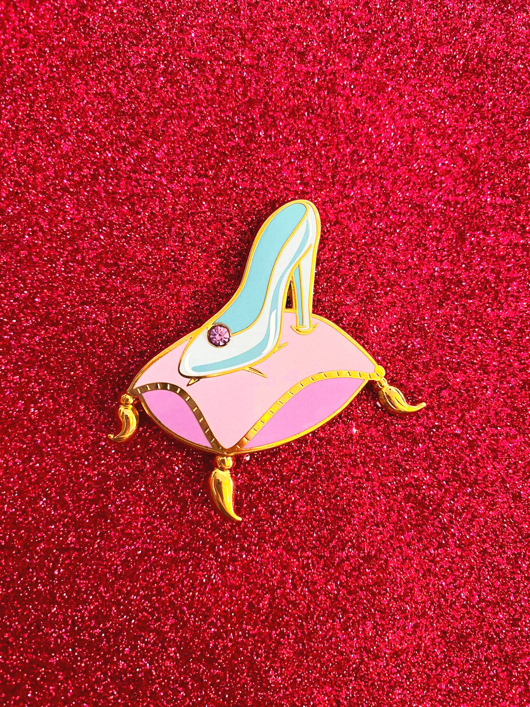 Cinderella's Slipper Pin