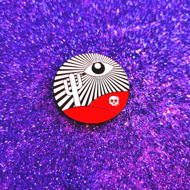 The Truth is Nowhere Pin