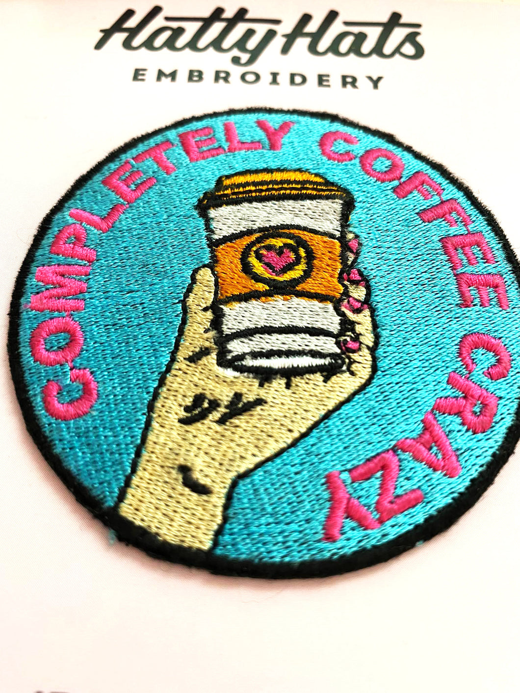 Completely Coffee Crazy Patch