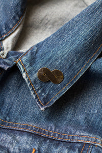 Forever Gay Pin (Black)