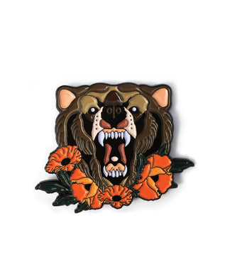 California Grizzly Pin