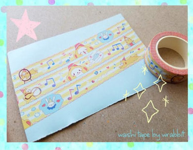 Doll Circus Washi Tape