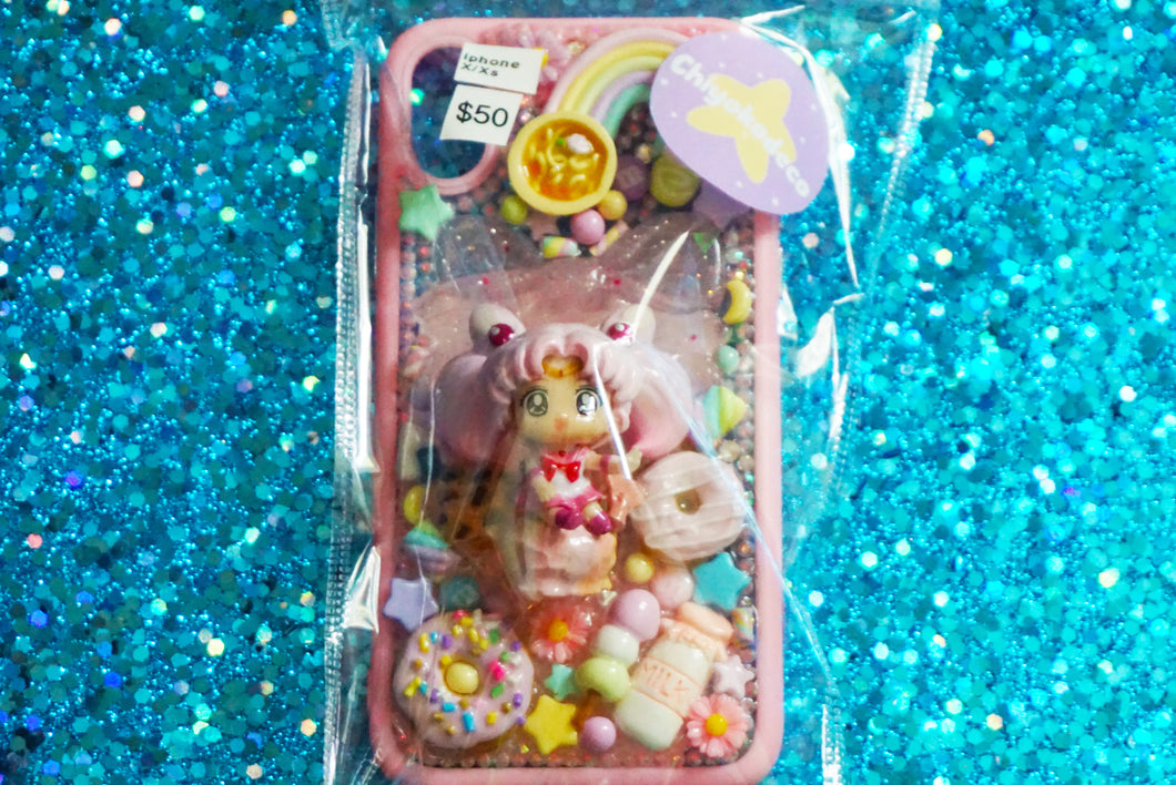 iPhone X / XS Chibi Moon + Treats Phone Case