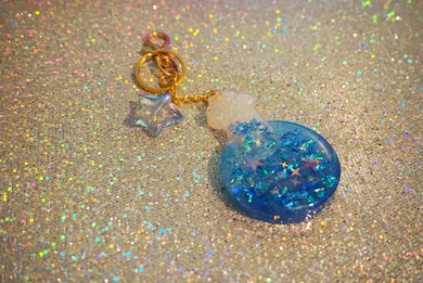Resin Potion Bottle Keychain