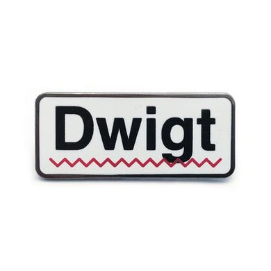 Dwigt Hard Enamel Pin - The Office