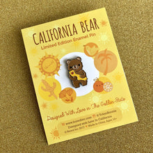 Load image into Gallery viewer, CALIFORNIA BEAR THE GOLDEN STATE ENAMEL PIN