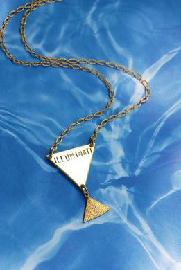 HANDMADE ILLUMINATI NECKLACE