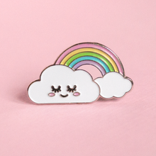Load image into Gallery viewer, Cloud and Rainbow Pin