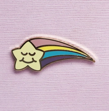 Load image into Gallery viewer, Wishing Star Enamel Pin