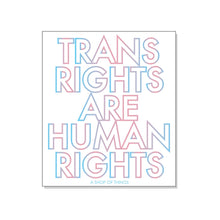 Load image into Gallery viewer, Trans Rights are Humans Rights Stickers