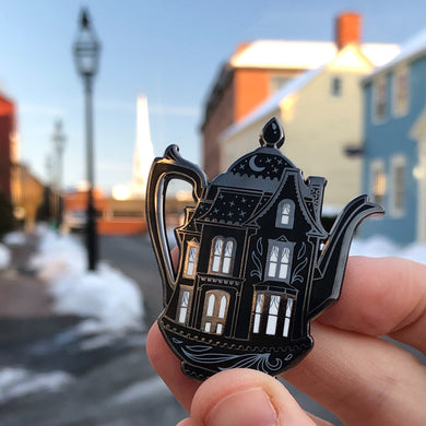 Victorian House Teapot