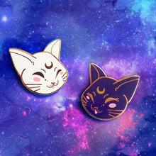 Load image into Gallery viewer, Artemis + Luna Enamel Pin Set