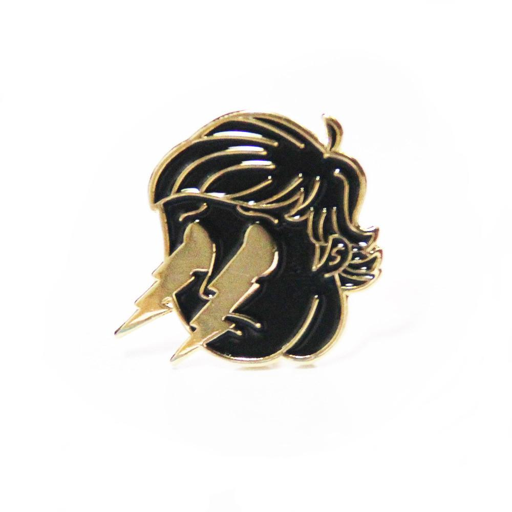 Crying Lightning Pin