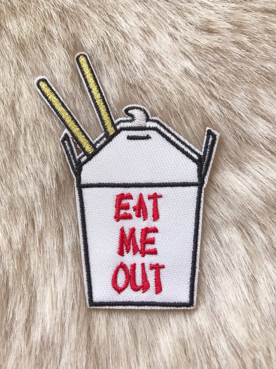 Eat Me Out Patch
