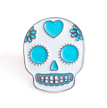 Load image into Gallery viewer, Sugar Skull Pin