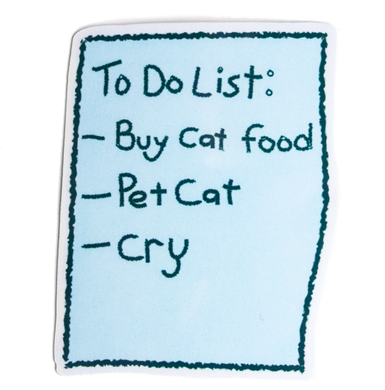 To Do List Sticker