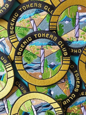 Scenic Tokers Club Patch