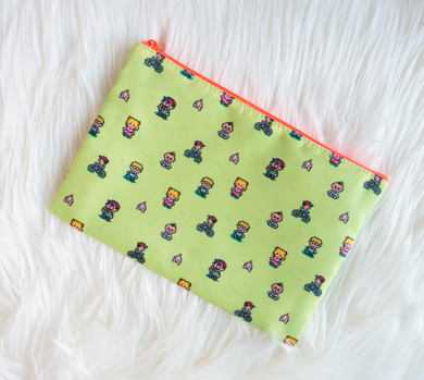 Earthbound Zippered Pouch
