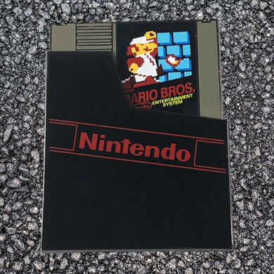 Super Mario Brothers Cartridge (Slider Pin)