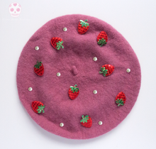 Load image into Gallery viewer, Strawberry Berets