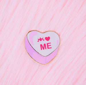 I LOVE ME - ENAMEL PIN