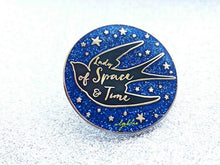 Load image into Gallery viewer, Lady of Space and Time Pin - Swallow Pin