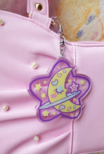 Load image into Gallery viewer, Precious Bbyz Sleepy Moon Kawaii Key Chain by Precious Bbyz