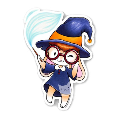 Lil' Witch Bun Sticker -