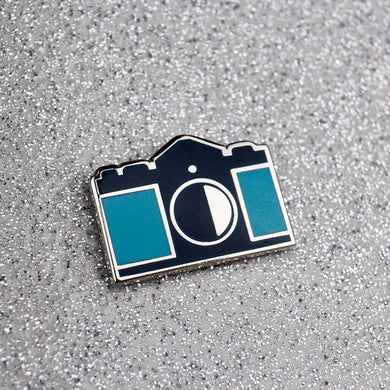 Camera Hard Enamel Pin - Canon F-1 Camera - Camera Pin