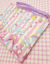 Load image into Gallery viewer, Kawaii Birb Faux Leather Pencil Bag