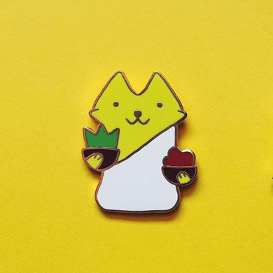 Justice MEOW Enamel Pin Badge