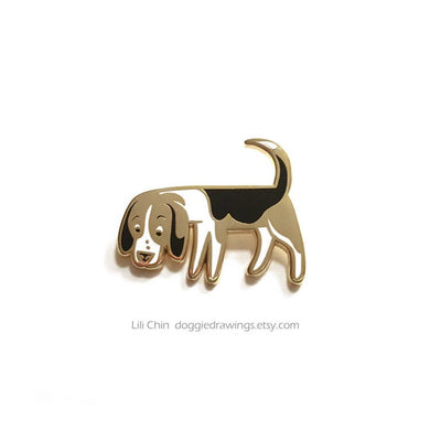 Beagle / Scenthound - Dog Enamel Pin