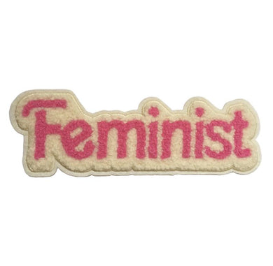 Feminist Iron On Patch