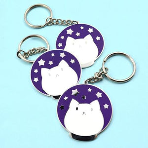SASSY KITTIES KEYCHAINS (3 DESIGNS)