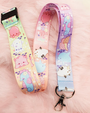 Ocean Friends Thick Lanyard