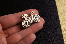 Load image into Gallery viewer, Bike Enamel Pin Bicycle Pin