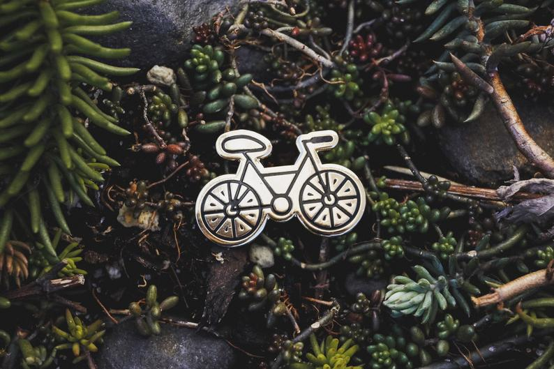 Bike Enamel Pin Bicycle Pin