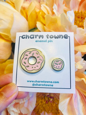 Donut and Donut Hole Pin Set