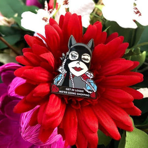 Catwoman x Mean Girls Pin