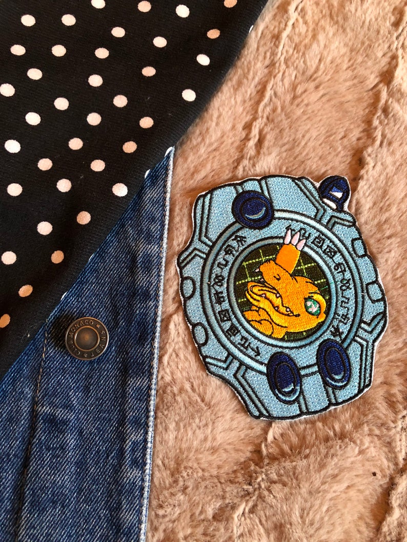Digimon - Augumon Iron on Patch