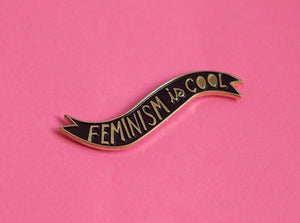 Feminism is Cool Pin