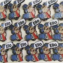 Load image into Gallery viewer, Ello Worm - Enamel Pin -
